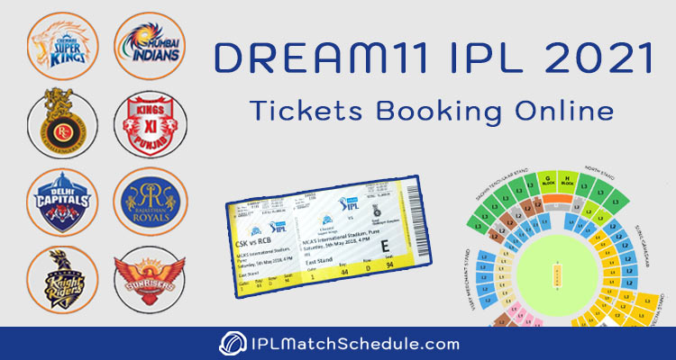 Dream11 IPL 2021 Tickets Booking Online